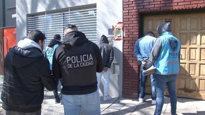 Detienen a tres ladrones en Villa Crespo