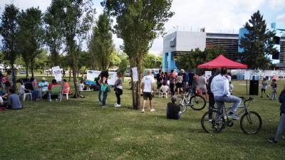 Festival barrial Puentes Fantásticos en el Parque La Isla de la Paternal